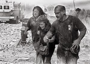 11 September 2001 - Survivors of Attack on WTC NY