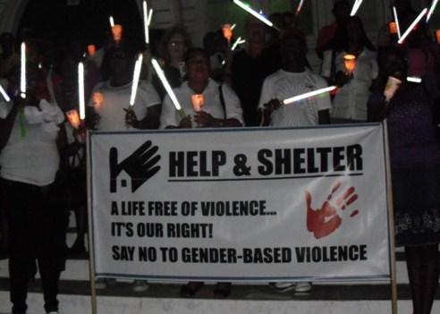 Help & Shelter Candle Vigil against Domestic Violence - Guyana - 25 November 2011
