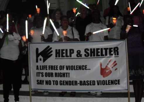 Help & Shelter Candle Vigil against Domestic Violence - Guyana - 25 November 2011