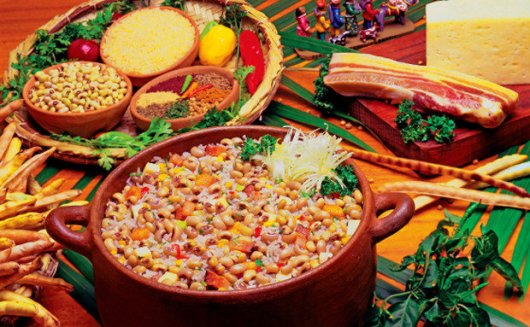 Baiao de Dois - Typical Food of Ceara - Brazil