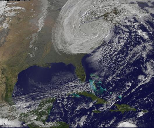 Frankenstorm Sandy - October 2012