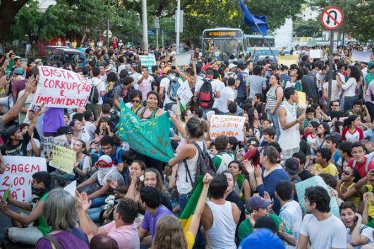 Protests in Brazil - Fortaleza - Ceara - 20 June 2013