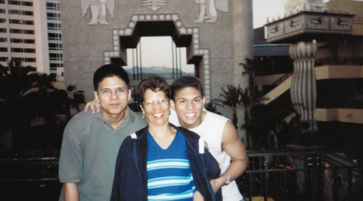 Rosaliene and Sons - Hollywood Boulevard - Los Angeles - October 2003