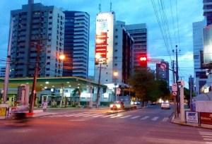 Intersection of Av Dom Luis with Av Senador Virgilio Tavora - Fortaleza - Brazil