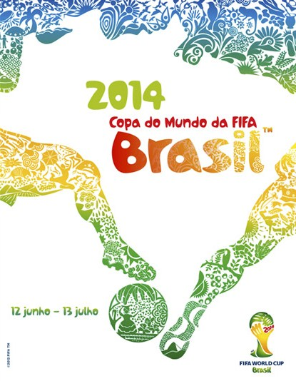 Brazil World Cup Poster 2014
