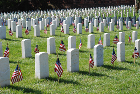 Memorial Day at Alexandria National Cemetery