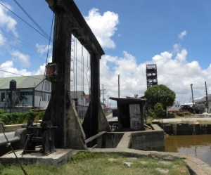 Koker or Sluice Gate - Georgetown - Guyana