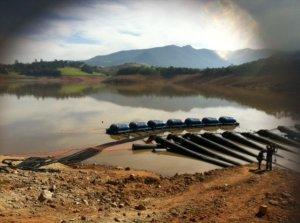 Cantareira System - Jaguari-Jacarei Reservoir - May 2014
