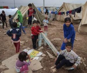 Syrian Refugee Children - Refugee Camp in Iraq