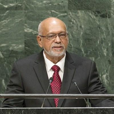 Guyana President Donald Ramotar
