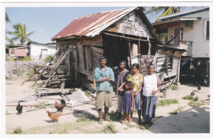 Needy Family in Corentyne Guyana