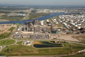 Pasadena Refinery in Texas USA owned by Petrobras