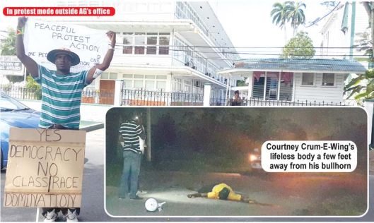 Assassination of Courtney Crum-Ewing - Guyana - March 2015