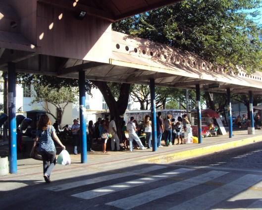 Bus Terminal - Praca Coracao de Jesus - Fortaleza - Ceara - Brazil