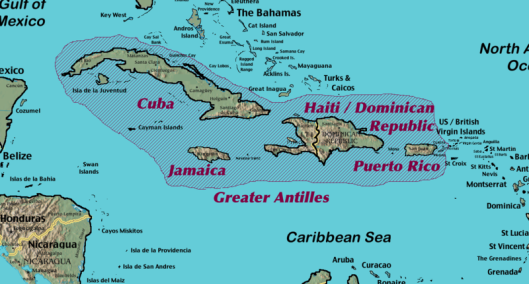 Hispaniola - Greater Antilles - Caribbean Sea
