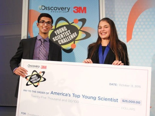 2015 Discovery Education 3M Young Scientist Challenge