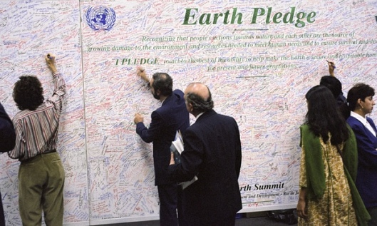 Earth Pledge - UNCED - June 1992