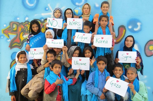 No to War - Afghan Peace Volunteers