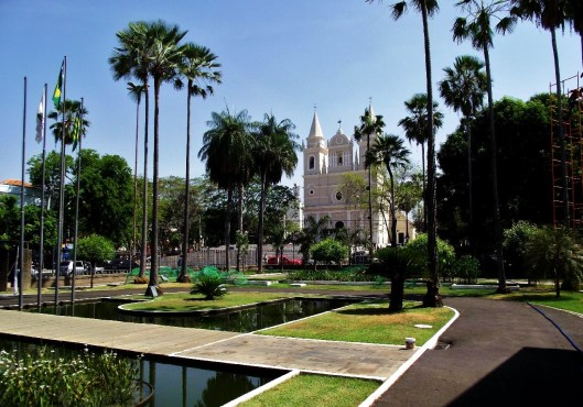 Teresina Gardens with Karnak Palace - State of Piaui