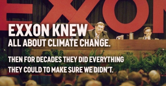 Exxon knew all about climate change
