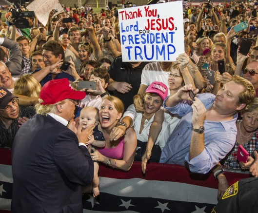 Trump Rally - Alabama - 2015 - Mark Wallheiser Getty Images