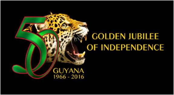 Guyana Golden Jubilee Logo 1966-2016