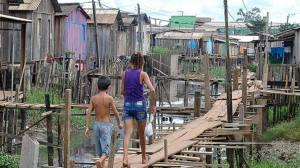 Urban Slum - Belem - State of Para - Brazil