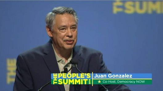 Juan Gonzalez, Co-Host of The People's Summit