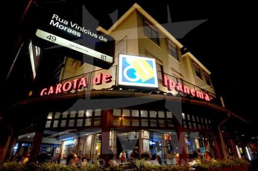 Garota de Ipanema Restaurant - Ipanema Beach - Rio de Janeiro - Brazil
