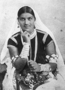 Indentured Indian Woman - British Guiana