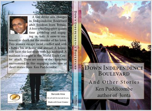 Book Cover - Down Independence Boulevard and Other Stories by Ken Puddicombe