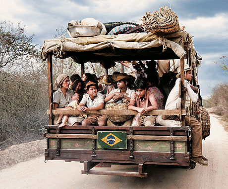 Open back truck - Pau de Arara - used for transporting people in rural Northeast Brazil