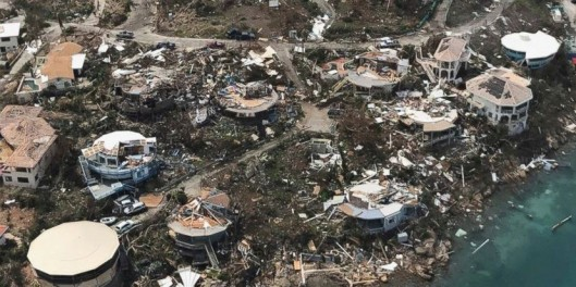Destruction left in wake of Hurricane Irma - US Virgin Islands - 8 September 2017