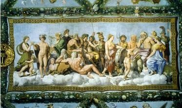 Council of the Gods by Raphael