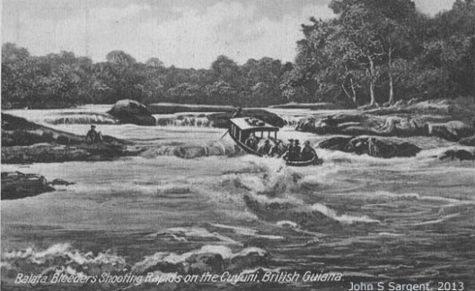 balata_bleeders_shooting_rapids_on_the_cuyuni,_british_guiana_c1908