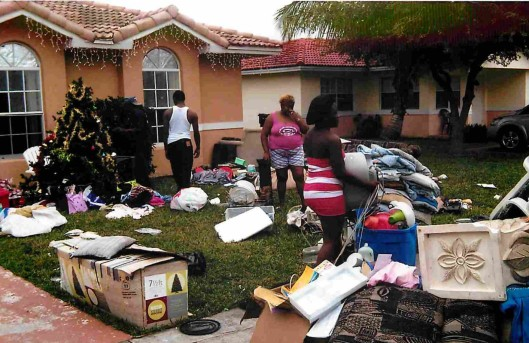 Florida grandmother evicted from home