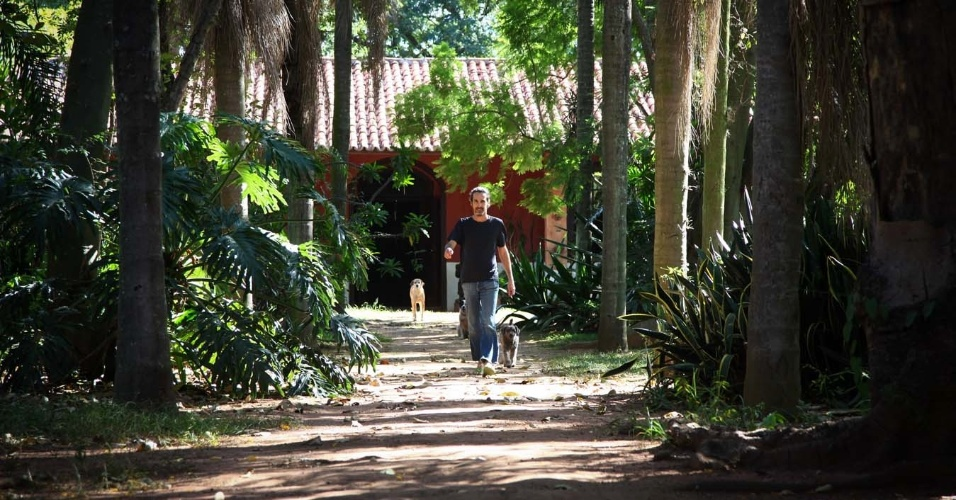 Entrance to Hilda Hilst Institute - Casa do Sol - Campinas - Sao Paulo - Brazil
