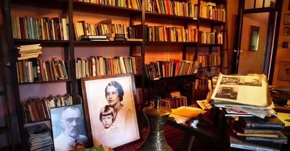 Library of Hilda Hilst - Casa do Sol - Campinas - Sao Paulo - Brazil