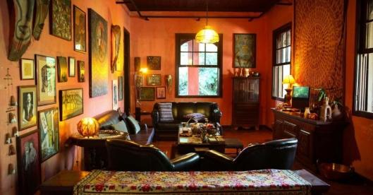 Living Room - Hilda Hilst Casa do Sol - Campinas - Sao Paulo - Brazil