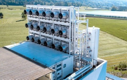 The Climeworks carbon sucking plant - Switzerland